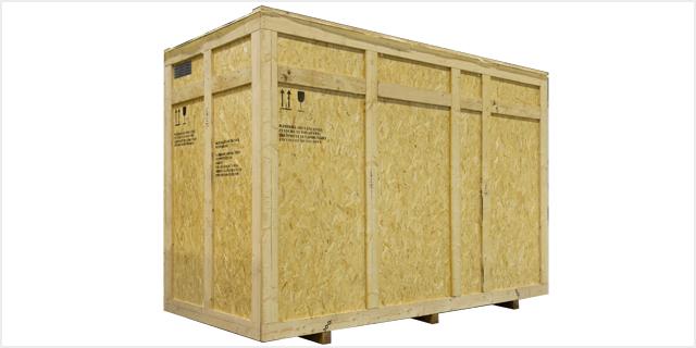 Emballage caisse bois sur-mesure